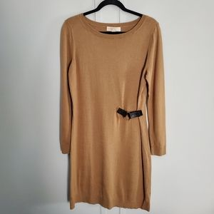 MICHAEL Michael Kors Long Sleeved Sweater Dress